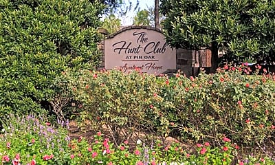 Community Signage, The Hunt Club at Pin Oak Apartments, 2