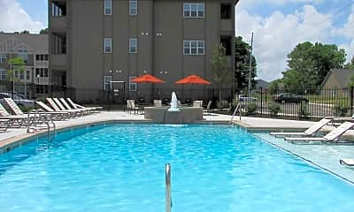 Pool, The Ivy Towns and Flats, 2