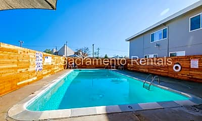 Pool, 3833 Marconi Ave, 2
