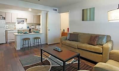 Living Room, Centennial Court, 1