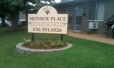Community Signage, 1 Monroe Woods, 0