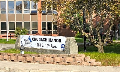 Chugach Manor- LOW INCOME HOUSING 62 YEARS OLDER, 1