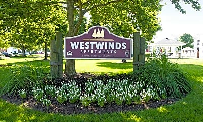 Community Signage, Westwinds, 2