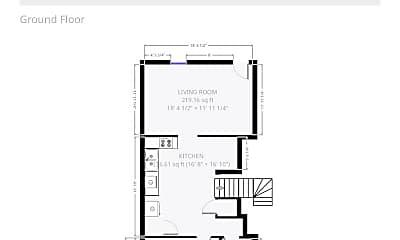Bedroom, 53 E 12th Ave, 2