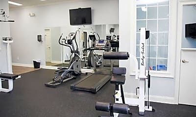 Fitness Weight Room, Brighton Park Apartment Homes, 1