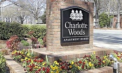 Community Signage, Charlotte Woods, 0