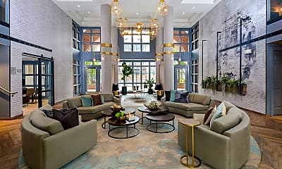 Living Room, The Citizen at Shirlington Village, 0