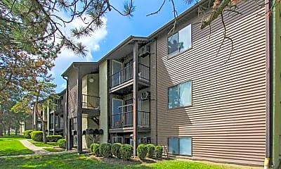 Building, Long Acres Apartments, 0