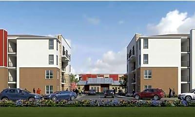 Building, Post Oak Apartments, 1