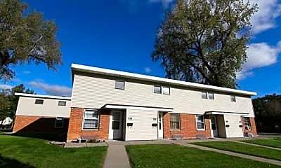 Building, Dakota Commercial Apartments, 1