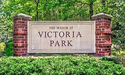 Community Signage, The Manor at Victoria Park Senior Living 62+, 2