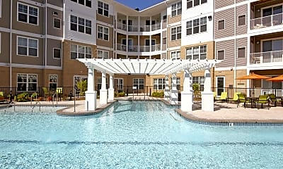 Pool, Solace Apartments, 1