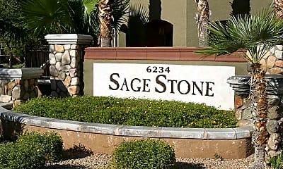 Community Signage, Sage Stone At Arrowhead, 1