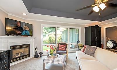 Living Room, 9519 Windsor St, 1