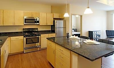 Kitchen, Central Pointe, 1