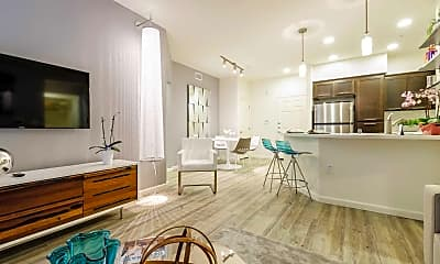 Living Room, Solterra Ecoluxury Apartments, 1