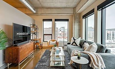 Living Room, 728 N 3rd St 608, 1