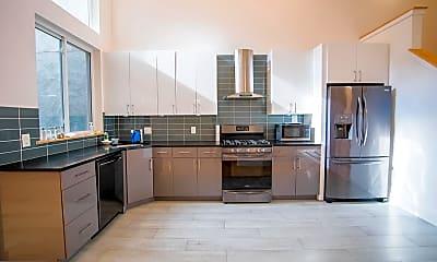 Kitchen, 1634 Ridge Ave D, 1
