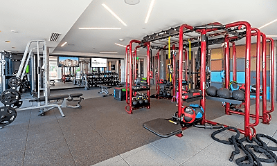 Fitness Weight Room, 2834 Curtis Street, 2