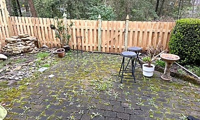 Patio / Deck, 1215 Chanticleer, 2
