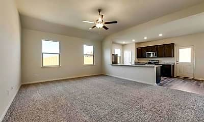 Living Room, 8408 Smokey Creek Pass, 1