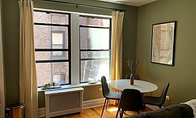 Living Room, 750 Riverside Dr 2-B, 1