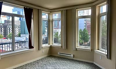 Living Room, 2415 2nd Avenue, Unit 634, 2