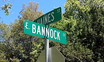 Community Signage, 13201322 E Bannock St, 1