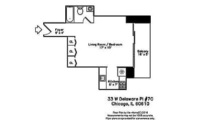33 W Delaware Pl 7E, 2