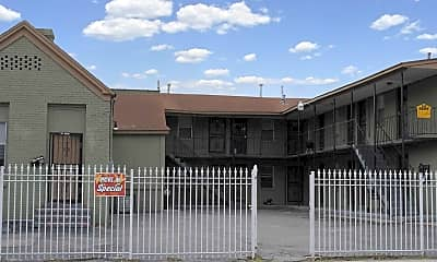 Building, Looney Apartments, 2