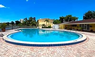 Pool, 2825 NE 201st Terrace, 2