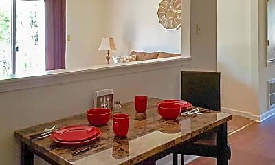 Dining Room, Brookview Apartments, 2