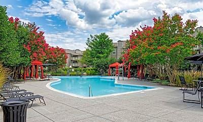 Pool, Shenandoah Crossing Apartment Homes, 1