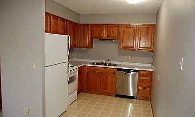 Kitchen, 1014 Oakcrest Street Apt 7, 0