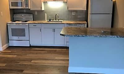 Kitchen, Skidmore Apartments, 2