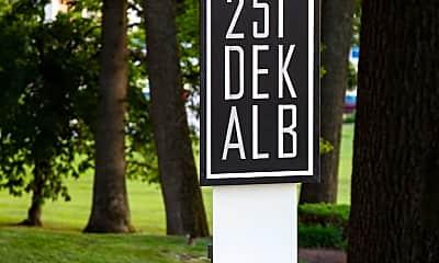 Community Signage, 251 W Dekalb Pike WESTSTUDIO, 2