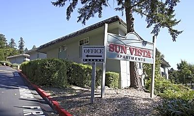 Community Signage, Sun Vista Apartments, 2