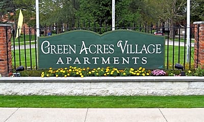 Community Signage, Green Acres Village Apartments, 2