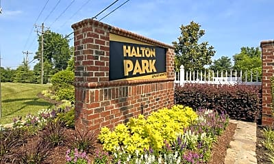 Community Signage, Halton Park, 2