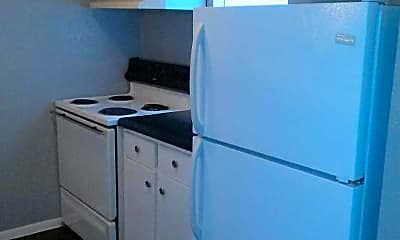 Kitchen, Fleetwood Square Apartments, 1