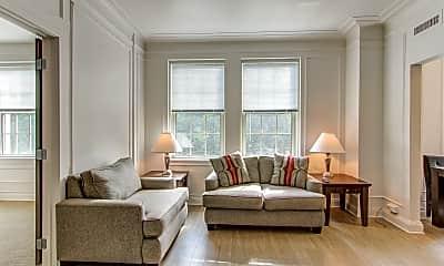 Living Room, Fenway Manor, 0