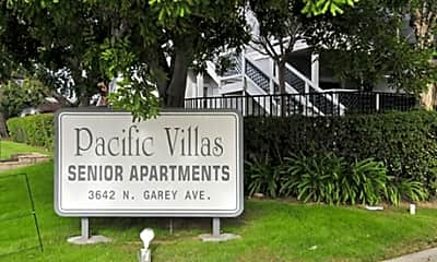 Community Signage, Pacific Villas, 2