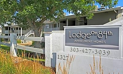 Community Signage, The Lodge on 84th Avenue, 2