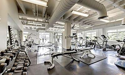 Fitness Weight Room, 805 Peachtree St NE 501, 2