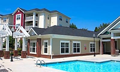 Pool, South Oak Crossing Apartments, 0
