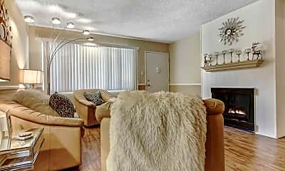Living Room, The Medici At South Hills, 0