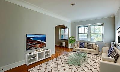 Living Room, Avon Apartments, 0