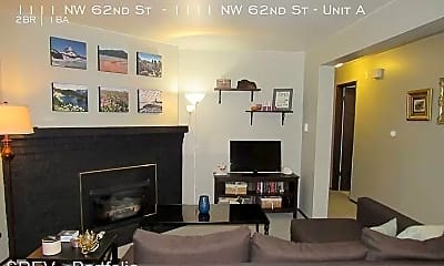 Living Room, 1111 NW 62nd St, 0