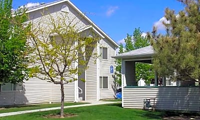 Building, Parkwood Apartments, 1