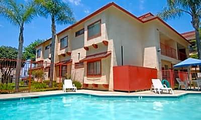 Pool, Fashion Hills Terrace Apartments, 1